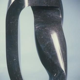 Black Mobius Strip | black marble