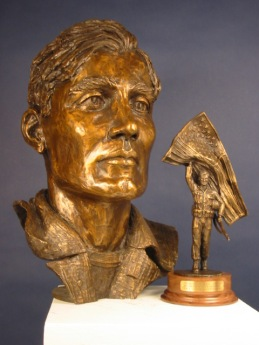 Citizen Soldier Edition (image includes bust of full scale sculpture) | bronze | clear patina