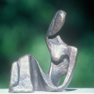 Reclining Woman | bronze