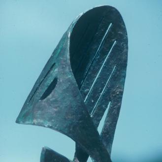 Hands of Time | bronze | verdigris patina