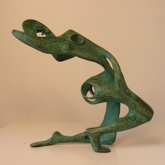 Lissome III | bronze | verdigris patina