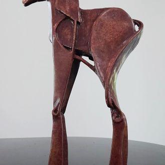 Percheron.Q | bronze | clear patina